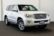 2014 Toyota Landcruiser VDJ200R MY13 Sahara Crystal Pearl 6 Speed Sports Automatic Wagon Rockingham Rockingham Area Preview