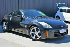 2006 Nissan 350Z Z33 MY06 Touring Black 5 Speed Sports Automatic Coupe