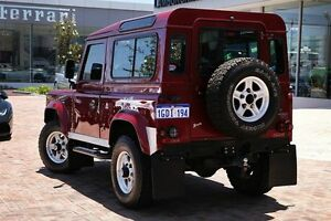 2004 Land Rover Defender 90 03MY X-Treme Red 5 Speed Manual Wagon Osborne Park Stirling Area Preview