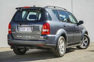 2009 Ssangyong Rexton Y220 II MY08 RX270 XVT SPR Grey 5 Speed Sports Automatic Wagon Bellevue Swan Area Preview