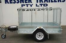 KESSNER TRAILER 7X4 HEAVY DUTY GALVANISED SINGLE AXLE BOX TRAILER Pooraka Salisbury Area Preview
