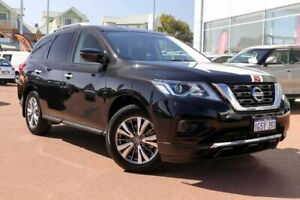 2018 Nissan Pathfinder R52 Series II MY17 ST X-tronic 2WD Black 1 Speed Constant Variable Wagon Clarkson Wanneroo Area Preview