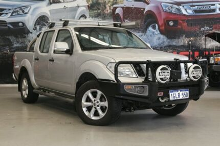 2014 Nissan Navara D40 MY12 Upgrade ST (4x4) Silver 6 Speed Manual Dual Cab Pick-up Hillman Rockingham Area Preview