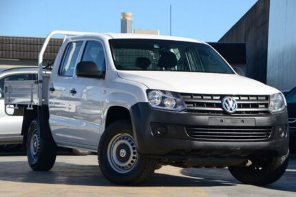 2012 Volkswagen Amarok 2H MY12.5 TDI420 4Motion Perm White 8 Speed Automatic Utility Tweed Heads South Tweed Heads Area Preview