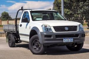 2007 Holden Rodeo RA MY08 LX White 5 Speed Manual Cab Chassis Kenwick Gosnells Area Preview