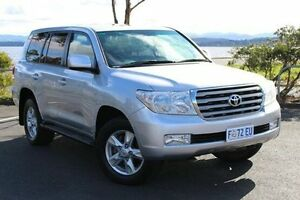 2012 Toyota Landcruiser VDJ200R MY12 VX Silver 6 Speed Sports Automatic Wagon Derwent Park Glenorchy Area Preview