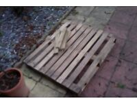 Free wooden pallet for someone moving, etc!