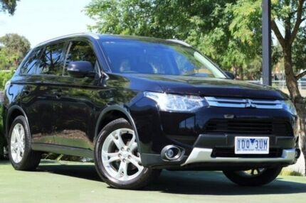 2014 Mitsubishi Outlander ZJ MY14.5 LS 4WD Black 6 Speed Sports Automatic Wagon