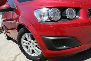 2012 Holden Barina TM MY13 CD Red 5 Speed Manual Sedan Homebush Strathfield Area Preview