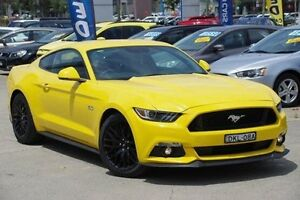 2016 Ford Mustang Yellow Sports Automatic Fastback Greenacre Bankstown Area Preview