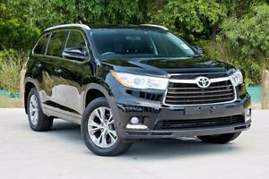 2014 Toyota Kluger GSU50R GXL 2WD Black 6 Speed Sports Automatic Wagon Aspley Brisbane North East Preview