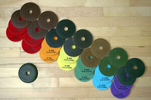 Diamond Resin Polishing Disks for Stone, Concrete