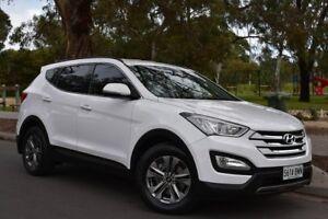 2014 Hyundai Santa Fe DM2 MY15 Active White 6 Speed Sports Automatic Wagon St Marys Mitcham Area Preview