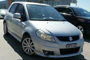 2010 Suzuki SX4 GYA MY10 S Silver 6 Speed Manual Hatchback Pearce Woden Valley Preview