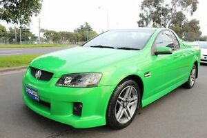 2007 Holden Commodore SV6 Green Utility West Footscray Maribyrnong Area Preview