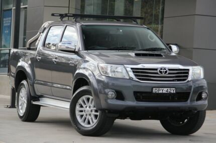 2013 Toyota Hilux Grey West Gosford Gosford Area Preview