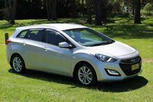 2013 Hyundai i30 GD Tourer Active 1.6 CRDi Silver 6 Speed Automatic Wagon Port Macquarie Port Macquarie City Preview