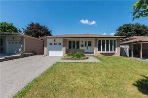 Bful Detached Bungalow for lease in Oshawa
