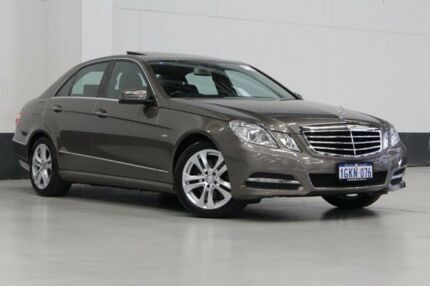 2010 Mercedes-Benz E250 212 CDI Avantgarde Grey 5 Speed Automatic Sedan