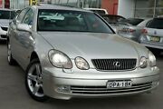 2001 Lexus GS300 JZS160R MY2002 Silver 5 Speed Sports Automatic Sedan Pearce Woden Valley Preview
