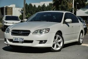 2006 Subaru Liberty B4 MY07 Premium Pack AWD White 4 Speed Sports Automatic Sedan Docklands Melbourne City Preview