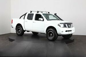 2007 Nissan Navara D40 ST-X (4x4) White 6 Speed Manual Dual Cab Pick-up McGraths Hill Hawkesbury Area Preview