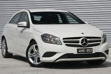 2015 Mercedes-Benz A180 176 MY15 BE White 7 Speed Sports Automatic Dual Clutch Hatchback Ringwood East Maroondah Area Preview