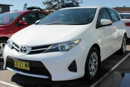 2014 Toyota Corolla ZRE182R Ascent White 7 Speed CVT Auto Sequential Hatchback Cardiff Lake Macquarie Area Preview