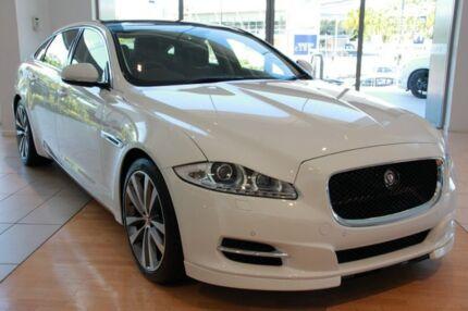 2015 Jaguar XJ X351 MY15 Premium LWB Luxury Polaris White 8 Speed Automatic Sedan Southport Gold Coast City Preview