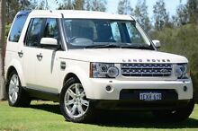 2009 Land Rover Discovery 4 Series 4 10MY TdV6 CommandShift SE Alaska White 6 Speed Sports Automatic St James Victoria Park Area Preview