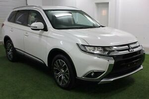 2015 Mitsubishi Outlander ZK MY16 LS 4WD White 6 Speed Constant Variable Wagon Devonport Devonport Area Preview