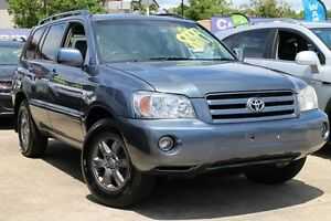 2006 Toyota Kluger MCU28R MY06 CVX AWD Blue 5 Speed Automatic Wagon Greenslopes Brisbane South West Preview
