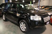 2007 Land Rover Freelander 2 LF SE TD4 (4x4) Black 6 Speed Automatic Wagon Victoria Park Victoria Park Area Preview