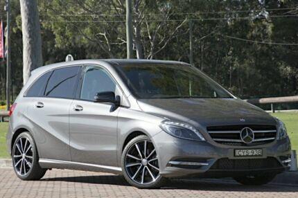 2014 Mercedes-Benz B200 CDI W246 DCT Mountain Grey 7 Speed Sports Automatic Dual Clutch Hatchback Warwick Farm Liverpool Area Preview