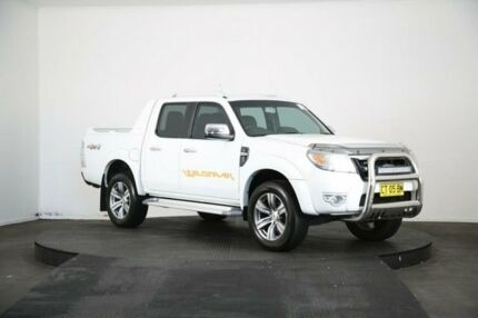 2011 Ford Ranger PK Wildtrak (4x4) White 5 Speed Automatic Dual Cab Pick-up McGraths Hill Hawkesbury Area Preview