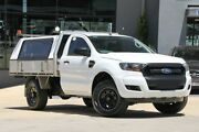 2015 Ford Ranger PX MkII XL 4x2 Hi-Rider White 6 Speed Sports Automatic Cab Chassis Moorooka Brisbane South West Preview