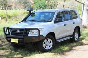 2013 Toyota Landcruiser VDJ200R MY13 GX Silver 6 Speed Sports Automatic Wagon Hawthorn Mitcham Area Preview