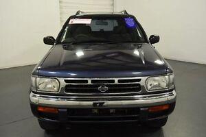 1998 Nissan Pathfinder TI (4x4) Blue 4 Speed Automatic 4x4 Wagon Moorabbin Kingston Area Preview