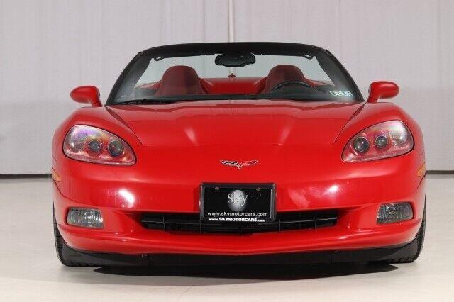 2005 Red Chevrolet Corvette Convertible    C6 Corvette Photo 6