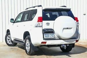 2013 Toyota Landcruiser Prado KDJ150R Altitude White 5 Speed Sports Automatic Wagon Willetton Canning Area Preview