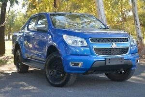 2013 Holden Colorado RG MY13 LTZ Crew Cab Blue 6 Speed Sports Automatic Utility Valley View Salisbury Area Preview