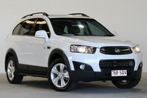 2012 Holden Captiva CG MY12 7 CX (4x4) White 6 Speed Automatic Wagon Coopers Plains Brisbane South West Preview