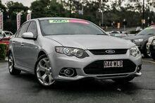 2012 Ford Falcon FG MkII XR6 Turbo Silver 6 Speed Sports Automatic Sedan Taringa Brisbane South West Preview