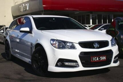 2014 Holden Commodore VF MY14 SS V Sportwagon White 6 Speed Sports Automatic Wagon Seaford Frankston Area Preview
