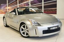 2004 Nissan 350Z Z33 Silver 6 Speed Manual Roadster Blacktown Blacktown Area Preview