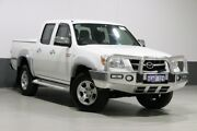 2011 Mazda BT-50 09 Upgrade Boss B3000 SDX (4x4) White 5 Speed Automatic Dual Cab Pick-up Bentley Canning Area Preview