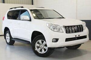 2012 Toyota Landcruiser Prado GRJ150R GXL White 5 Speed Sports Automatic Wagon Hillcrest Port Adelaide Area Preview
