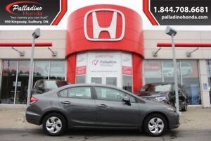 2013 Honda Civic Sdn LX - HEATED SEATS PERFECT FOR WINTER -