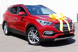 2015 Hyundai Santa Fe DM3 MY16 Highlander Red 6 Speed Sports Automatic Wagon Kings Park Blacktown Area Preview
