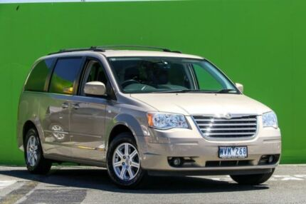 2008 Chrysler Grand Voyager RT 5th Gen MY08 Touring Gold 6 Speed Automatic Wagon